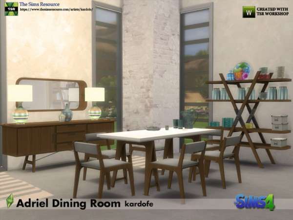 The Sims Resource: Adriel Diningroom by kardofe