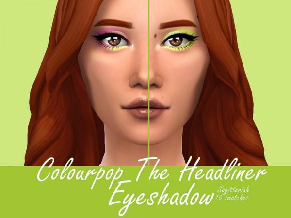 The Sims Resource: Colourpop The Headliner Eyeshadow by Sagittariah