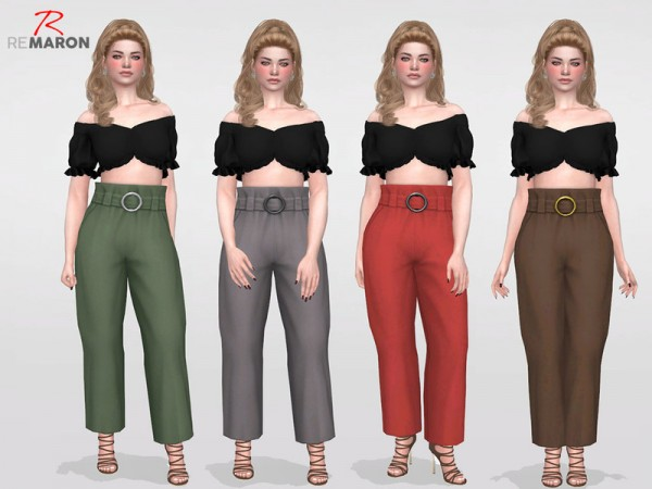 The Sims Resource: Pantalona Pants  by remaron