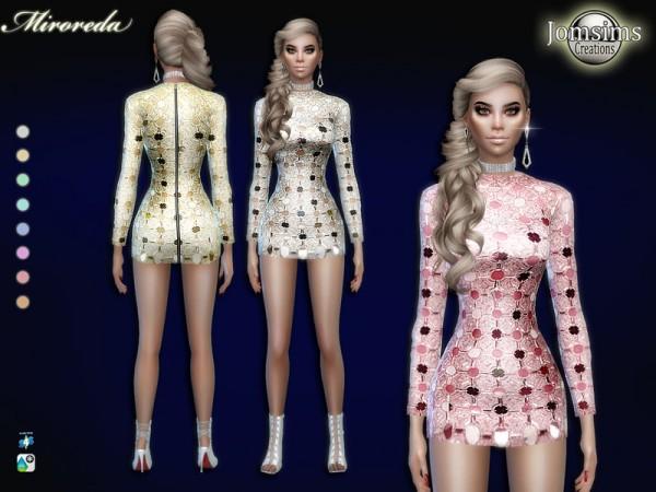 The Sims Resource: Miroreda dress by jomsims