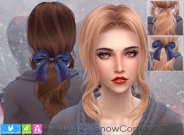 NewSea: J242 Snow Coridor Donation Hairstyle