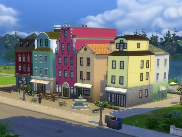 KyriaTs Sims 4 World: Stures Patisserie at Stortorget