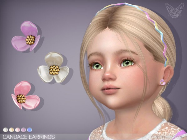 Giulietta Sims: Candace Earrings For Toddlers