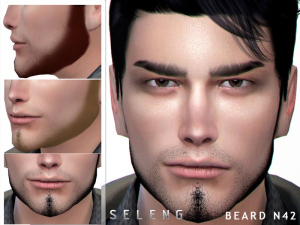 The Sims Resource: Beard N42 by Seleng