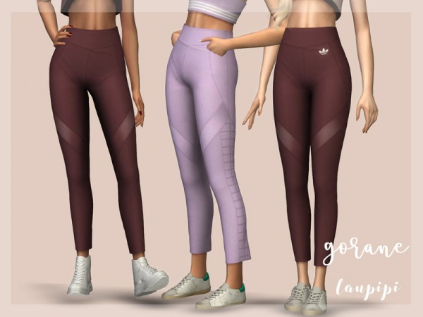 The Sims Resource: Gorane Pants by Laupipi
