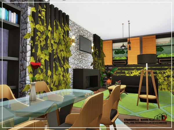 The Sims Resource: StrangerVille   Modern Villa by Danuta720
