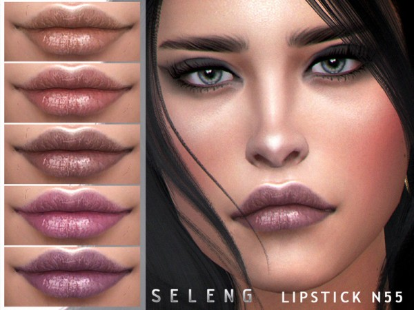 The Sims Resource: Lipstick N55 by Seleng