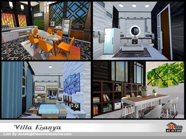 The Sims Resource: Villa Kanya NoCC by Autaki