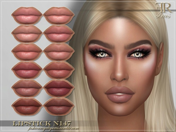 The Sims Resource: Lipstick N147 by FashionRoyaltySims