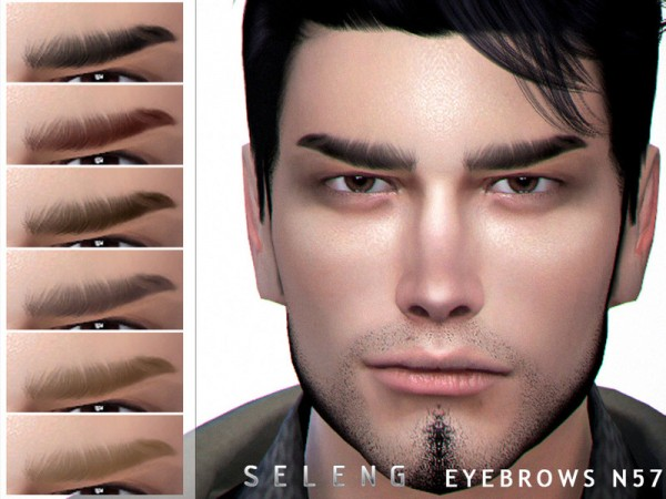 The Sims Resource: Eyebrows N57 by Seleng