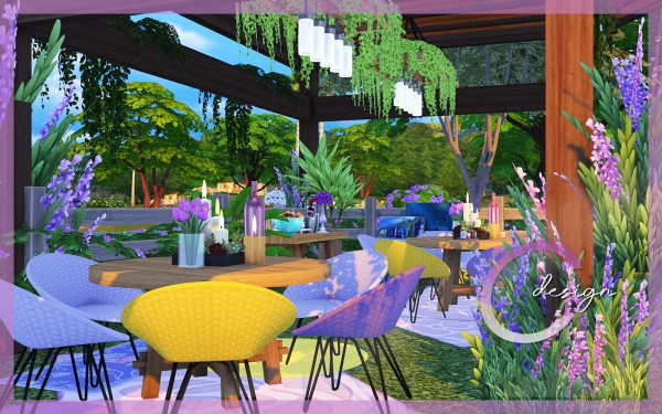 Cross Design: Lavender Wedding Spot
