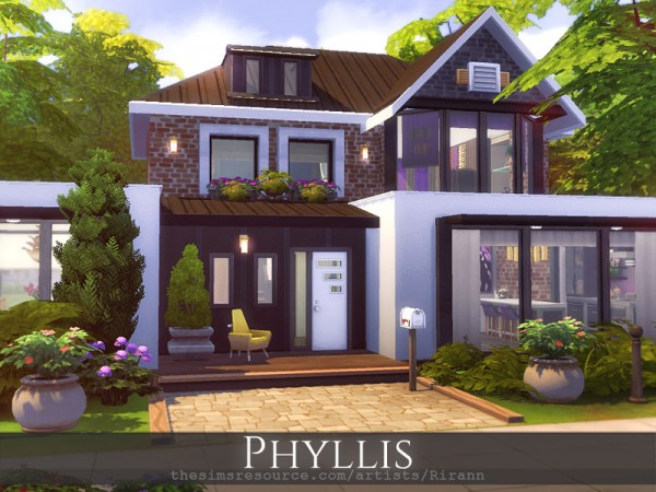 The Sims Resource: Phyllis House by Rirann