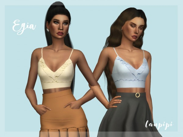 The Sims Resource: Egia Top by laupipi
