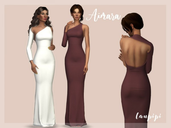 The Sims Resource: Aimara Dress by Laupipi