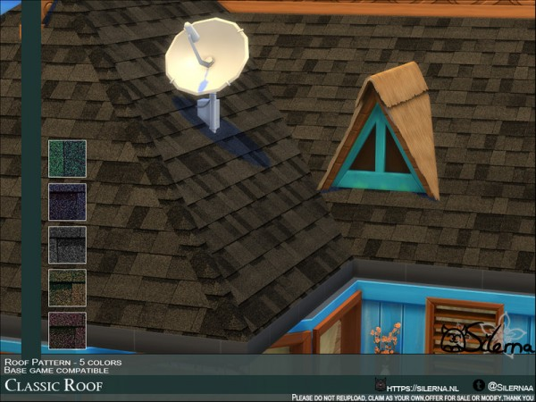 The Sims Resource: Classic Roof by Silerna