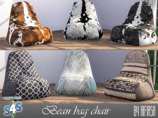 Aifirsa Sims: Chair   bag
