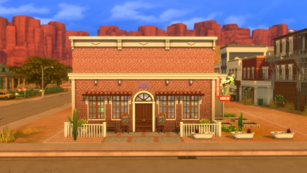 Mod The Sims: 8 Bells Bar   Minor Renovation (No CC) by dotssims