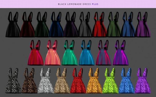 MMSIMS: Black lemonade Dress and Plus