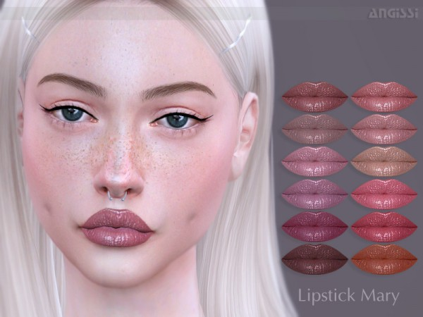 The Sims Resource: Lipstick Mary by ANGISSI