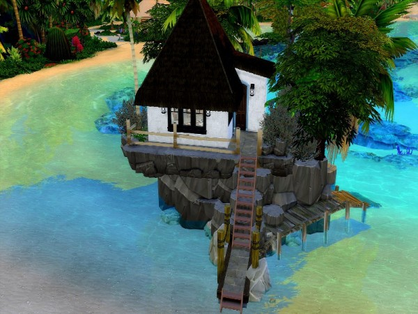 The Sims Resource: An enclave in paradise by GenkaiHaretsu