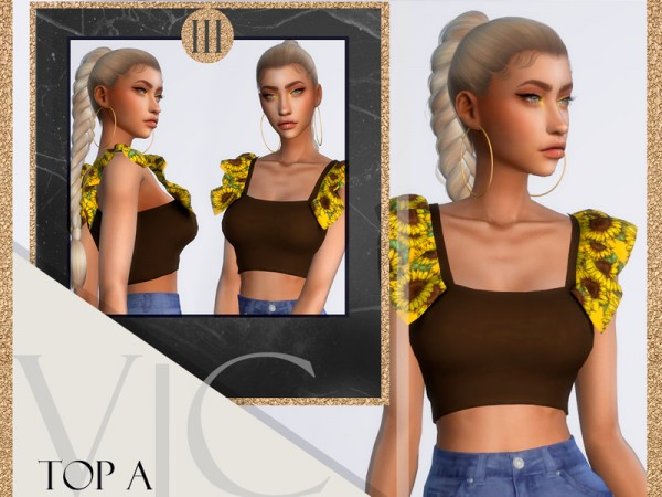The Sims Resource: Top AIII by Viy Sims