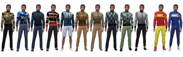 Sims 4 Sue: Summer Jacket