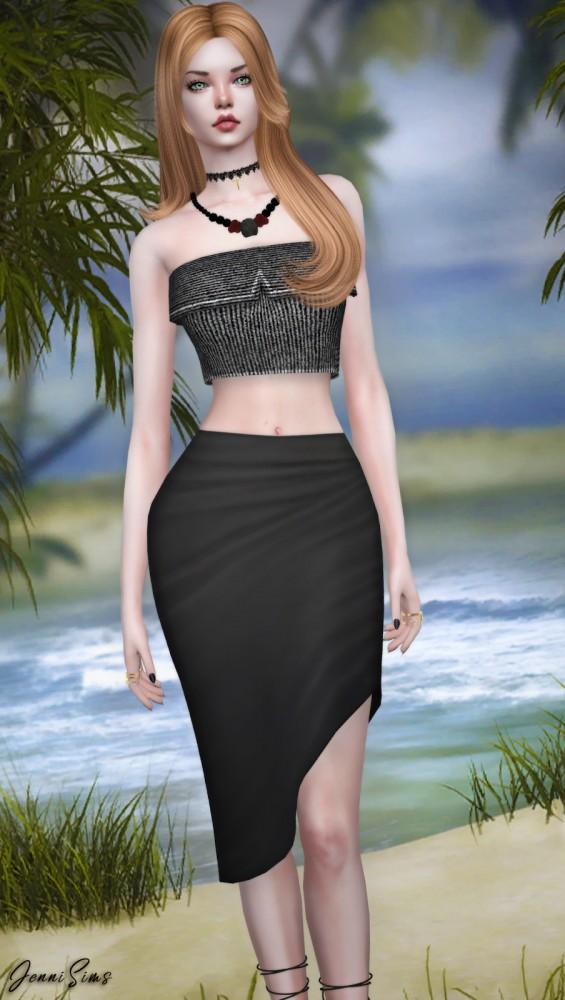 Jenni Sims: Tube Top