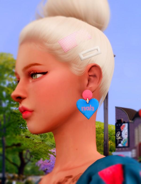 Rimings: Dress and Earrings