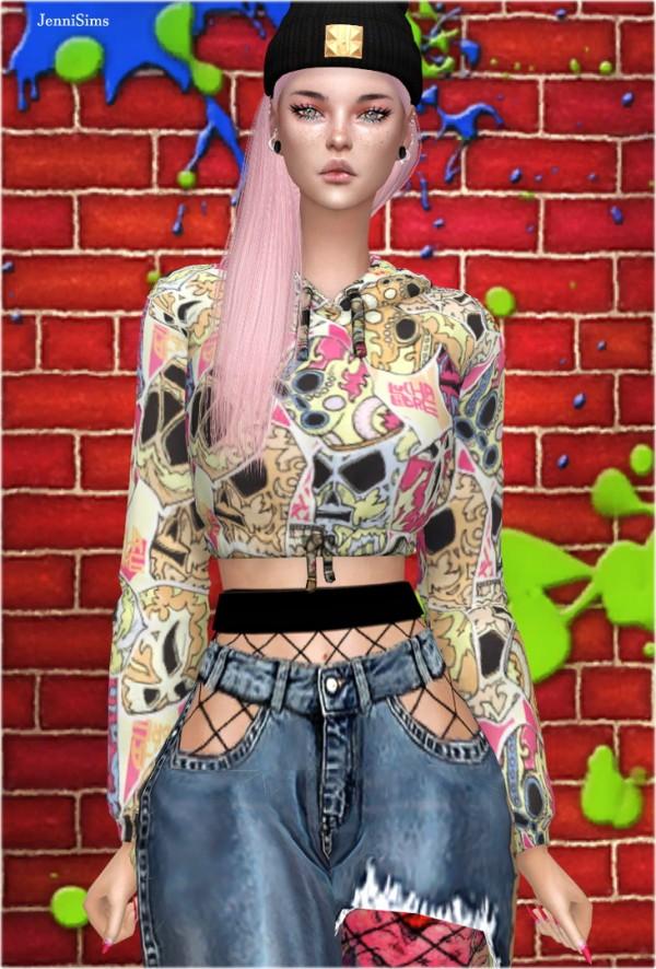 Jenni Sims: Hoodie