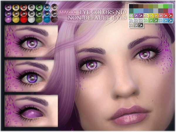 The Sims Resource: Magic eye colors 10 by BAkalia