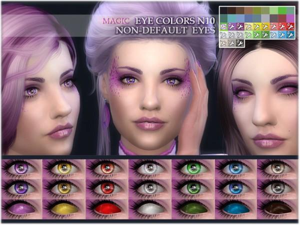 The Sims Resource: Magic eye colors 10 by BAkalia