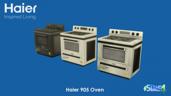 Mod The Sims: Haier Appliances by godspeed