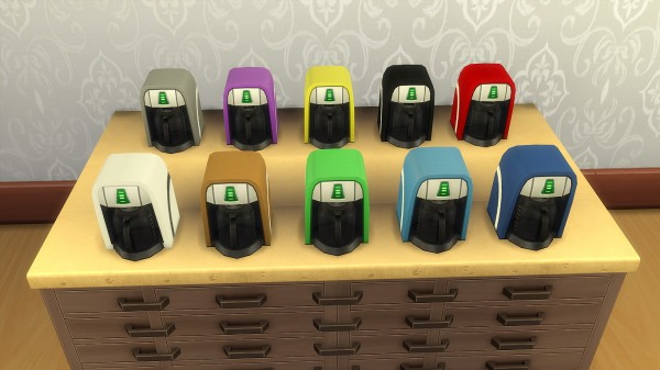 Mod The Sims: Coffee machine by hippy70