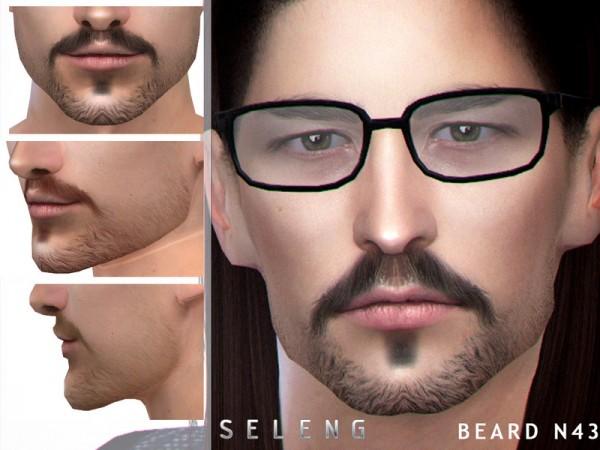 The Sims Resource: Beard N43 by Seleng