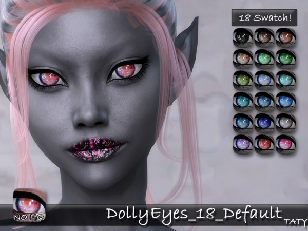 The Sims Resource: Dolly Eyes 18 by Taty