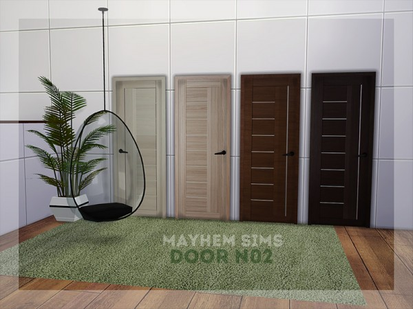 The Sims Resource: Door N02 by mayhem sims