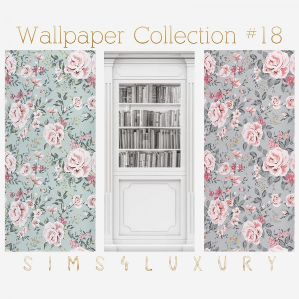 Sims4Luxury: Wallpaper Collection 18