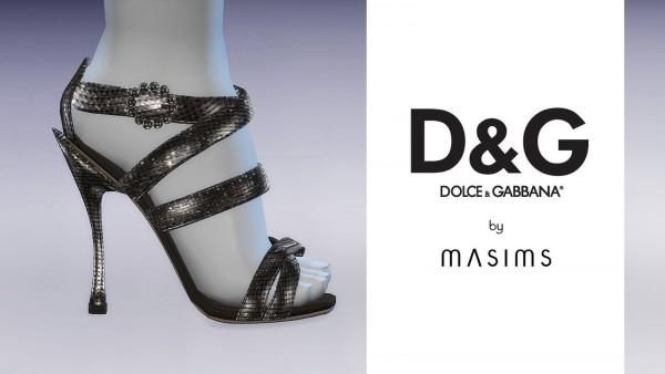 MA$ims 3: Keira Sandals