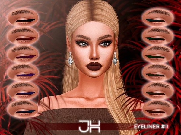 The Sims Resource: Eyeliner 11  by Jul Haos