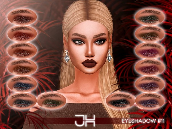 The Sims Resource: Eyeshadow 11  by Jul Haos