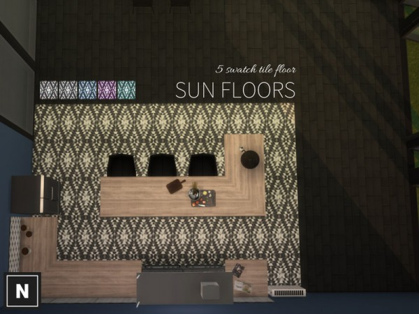 The Sims Resource: Sun floors by networksims