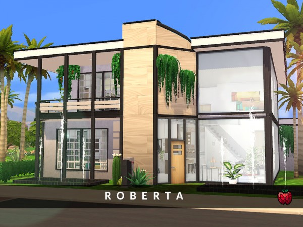 The Sims Resource: Roberta house by melapples