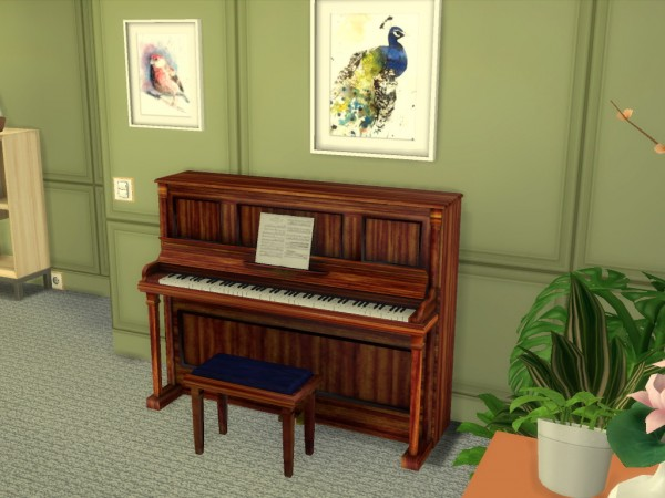Mod The Sims: Bluthner Upright Piano by PeterJames88