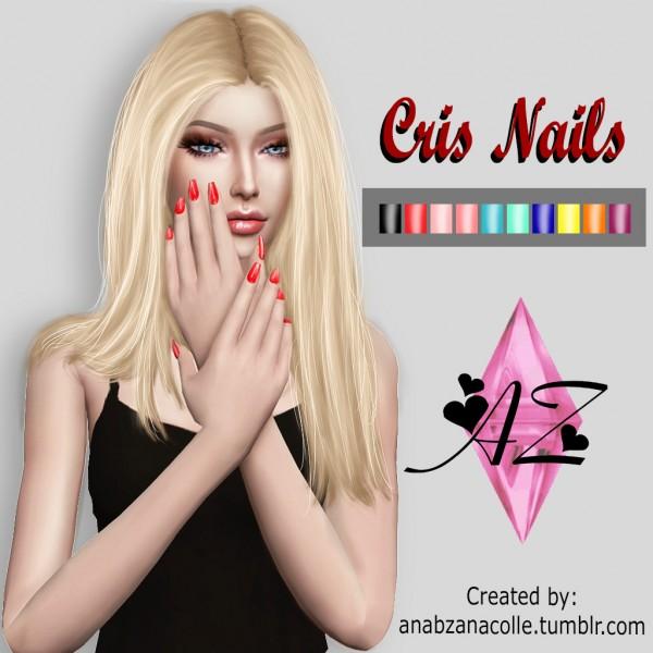 Ana Zanacolle: Cris Nails
