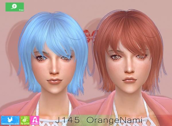 NewSea: J145 Orange Nami Free Hairstyle