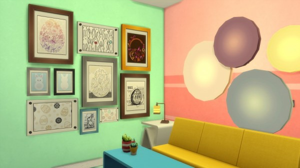 Sims Artists: Easter photographs