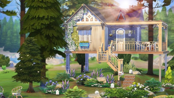 Aveline Sims: Writers Tiny House