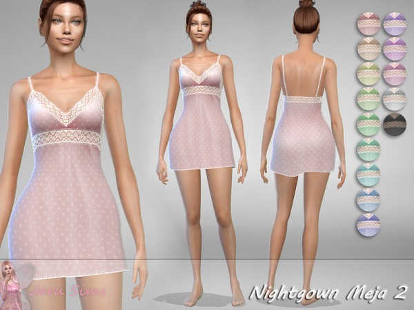 The Sims Resource: Nightgown Meja 2 by Jaru Sims