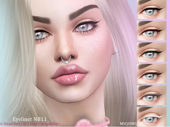 MSQ Sims: Eyeliner NB11