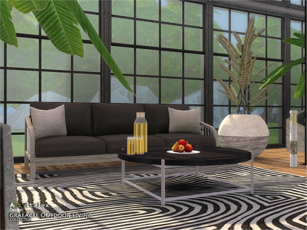 The Sims Resource: Graeagle Outdoor Living by ArtVitalex